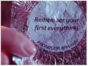 remember your first everything